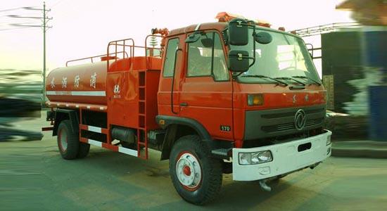 东风145型消防洒水车