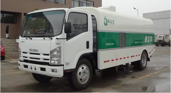 聚尘王吸尘车-国家专利产品 HLQ5100TXC
