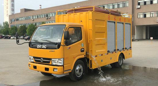 污水处理车  (国五蓝牌)
